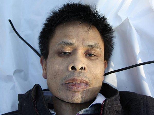 Policie zjišťuje totožnost tohoto muže
