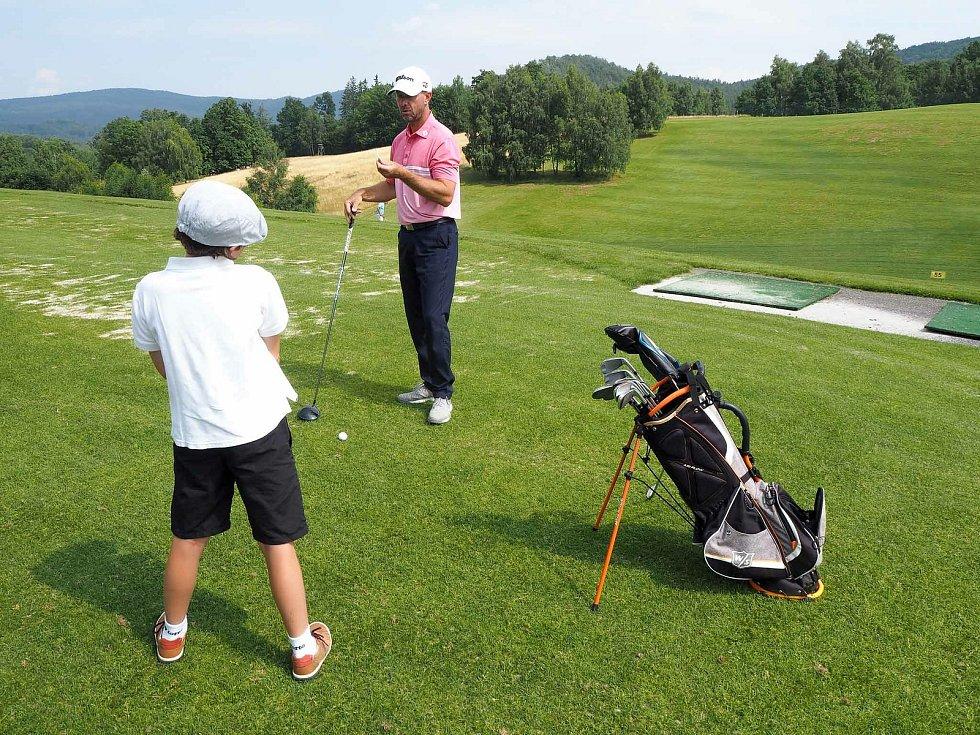 Pátý ročník Chamber Challenge Golf Tour 2021 na hřišti Ypsilon v Mníšku u Liberce.