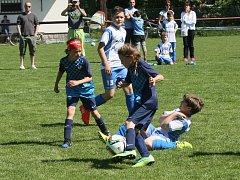 Za účasti domácích Ruprechtic, Krásné Studánky, Vesce a Dívčí fotbalové akademie se uskutečnil další pěkný turnaj.