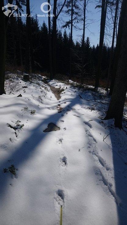 Stopní dráhy v Jizerských horách.