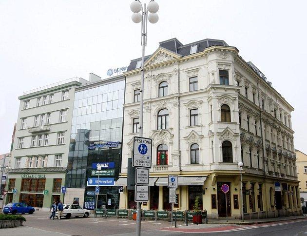 Liberecké domy.