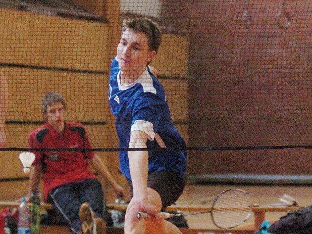 MIRKO ŠÍDA. Liberecký badmintonista má akademické stříbro.