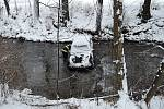 Dopravní nehoda v části obce Hrabačov.