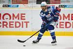 36. kolo extraligy ledního hokeje mezi Bílí Tygři Liberec a HC Kometa Brno. Na snímku Peter Mueller