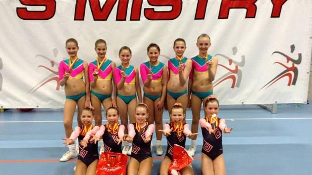 Aerobičky z A-stylu Liberec získaly šest sad medailí
