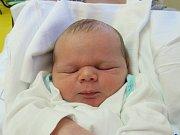 TOBIÁŠ KOVÁŘ Narodil se 26. září v liberecké porodnici mamince Denise Combové z Turnova. Vážil 3,60 kg a měřil 51 cm.