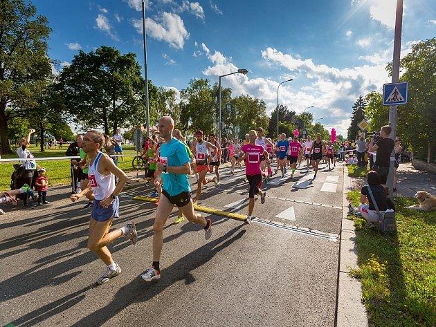 Olympijský běh. Ilustrační fotografie.