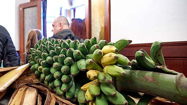 Africké trhy v Lidových Sadech.