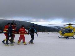 V půlce příštího roku už budou i záchranáři přímo ve vrtulníku vědět, jakými nemocemi trpěl před úrazem nebo náhlou příhodou ošetřovaný pacient.