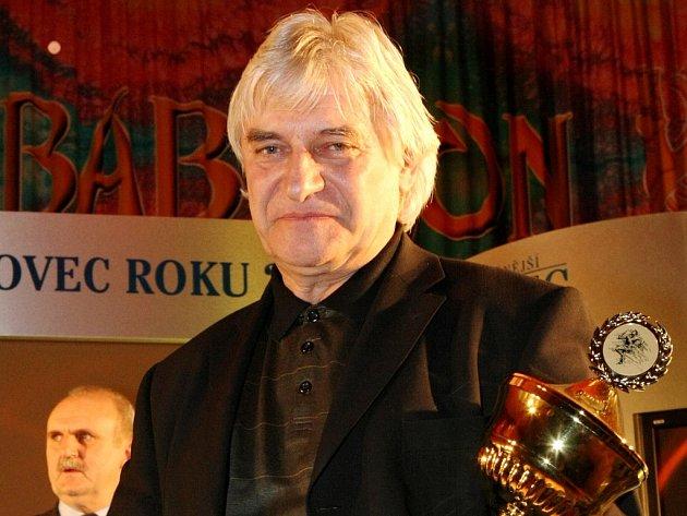 Vítězem kategorie trenér se stal oblíbený bard Ladislav Škorpil z fotbalového Slovanu Liberec.