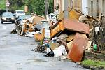 Třetí den v Heřmanicích po ničivé povodni