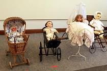 Výstava Kouzlo hraček v libereckém Severočeském muzeu.