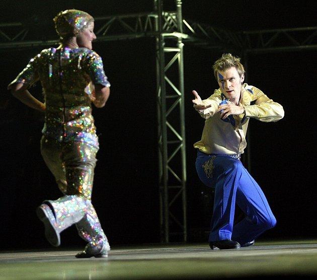 Do Liberecké arény zavítala světoznámá taneční šou Lord of the dance.Arénu se podařilo zcela vyprodat.