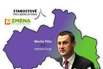 Kraj povede koalice Změny pro LK a Starostů pro LK