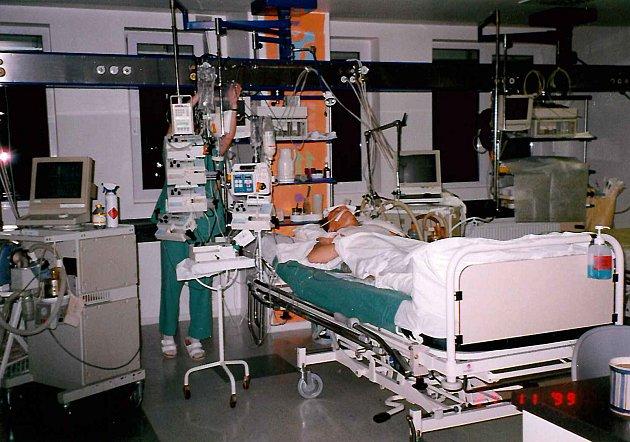 ARO vKrajské nemocnici vLiberci.