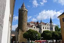 Dodnes je součástí středověkých budyšínských hradeb takzvaná Karáskova věž (Karasek-Turm)