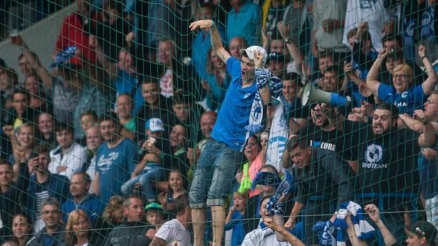 Fanoušci Slovanu Liberec - ilustrační snímek.