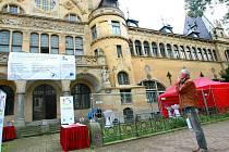 Liberecké lázně se změní za evropské peníze na novou budovu galerie.