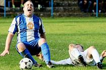 Fotbalové utkání. Ilustrační foto.