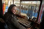Technické muzeum vystavuje tramvaje.