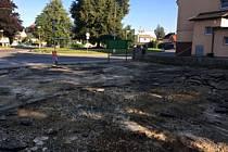 Přestavba tržnice v Chrastavě.