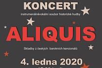 Tříkrálový koncert Aliquis