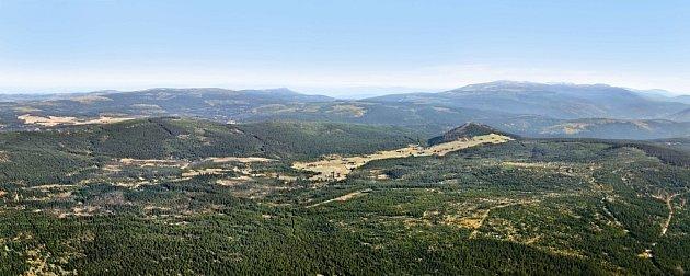 Panorama Jizerské hory