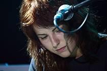 Zpěvačka Katka Knechtová z kapely Peha