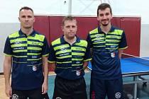 Stolní tenisté SKST Borová-Liberec zdolali Elizzu a vévodí tabulce.