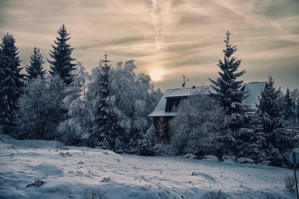Zima v Bedřichově.
