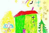 Mezi libereckými prvňáčky je ještě dost dětí, které vidí Ježíška jako Ježíška, nikoli jako coca–colového dědouška s čepicí.