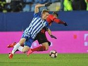 FC Slovan Liberec - SFC Opava 1:2. Utkání 18. kola fotbalové ligy.
