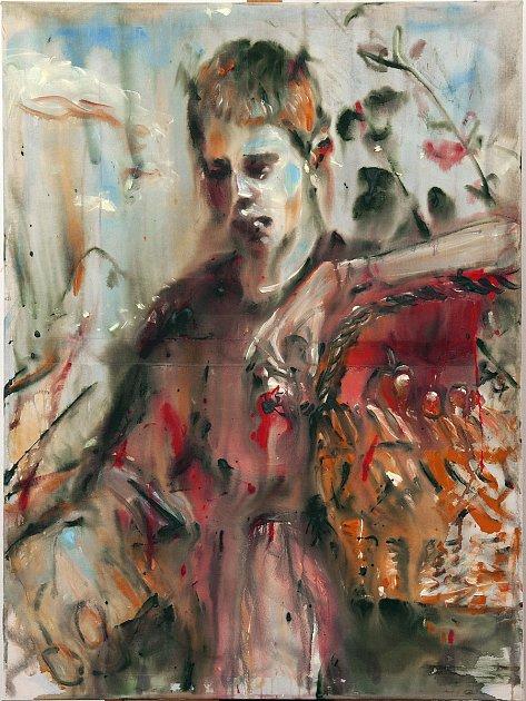 Výstava vOblastní galerii představuje slovenské umělce. Dílo Andreje Dubravského.