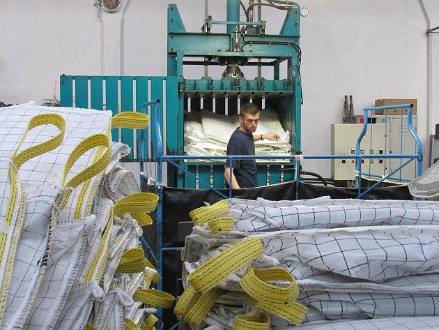 Juta Višňová, výrobce velkoobjemových vaků