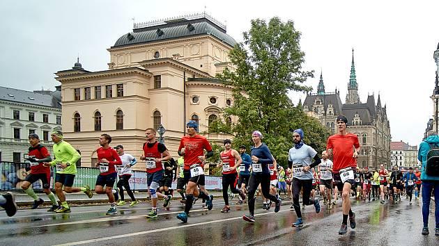 Závod Mattoni Liberec Nature Run 2019.