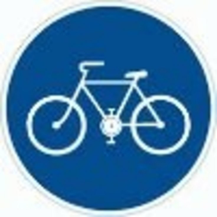 Stezka pro cyklisty.