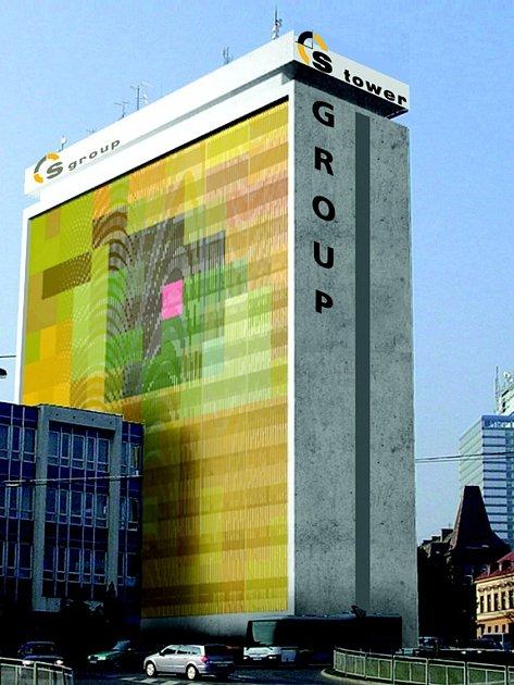 SYNEROVSKÁ VĚŽ. Liberec bude mít další dominantu, která ponese firemní žlutou barvu Syneru. Z bývalé budovy Elitexu vzniká S tower – největší administrativní centrum v regionu.