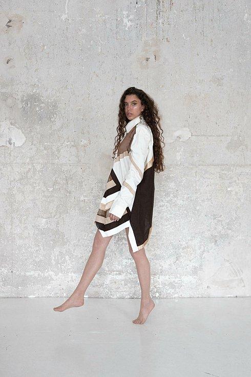 Návrh oděvu od Markéty Kožené.