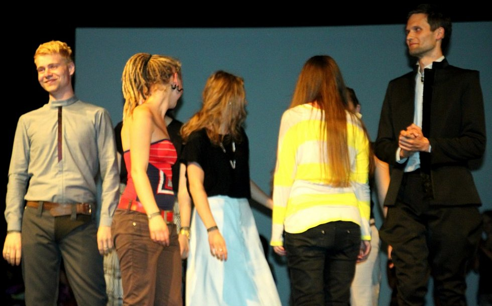 Fashion show na DrinkARTu ve vratislavických Desítkách