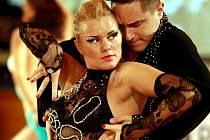 Festival latinských tanců s názvem Preciosa World Dance Latino Festival 2010 v libereckém Centru Babylon. Maria Lanno a a Luca Pirozzi z Itálie.