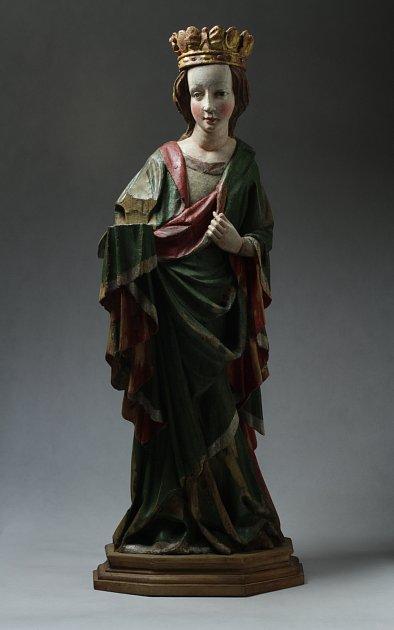 SV. BARBORA, 1430-1450.