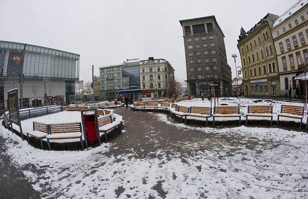 Soukenné náměstí je po rekonstrukci.