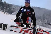 MISTRYNĚ SVĚTA.  Šárka Záhrobská je tváří závodu Světového poháru ve Špindlerově Mlýně.