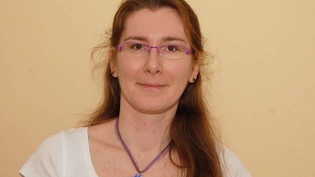 Vedoucí lékařka Dárcovského centra transfúzního oddělení Krajské nemocnice v Liberci MUDr. Barbora Müllerová.