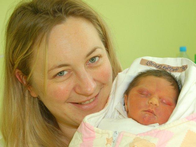Dcera Linda se narodila 18. března v Liberci mamince Michaele Šindelářové z Liberce. Měřila 49 cm a vážila 2,8 kg.