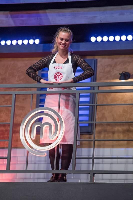 Nejmadší účastnice MasterChef Česko 2020 Lucie Čižmárová.