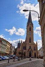 Rekonstrukce kostela sv. Antonína v Liberci