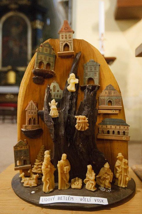 Výstava betlémů v kostele sv. Jana Křtitele v Liberci.