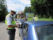 Policie rozdávala v rámci akce Řídím, piju nealko nealkoholická piva. Akce má upozornit na vzrůstající počet nehod, kdy jsou řidiči pod vlivem alkoholu.