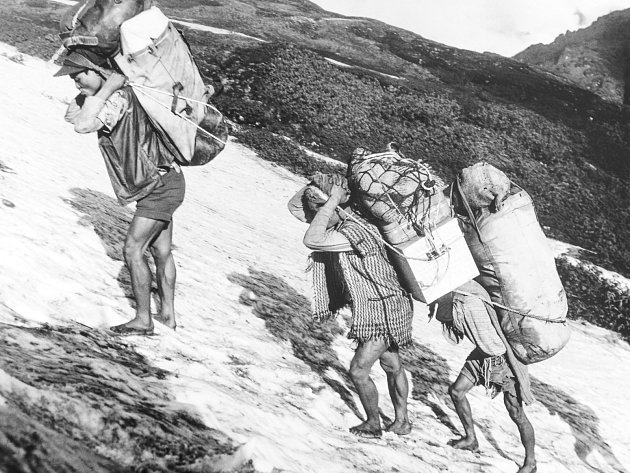 Jan Červinka, Nepálští šerpové